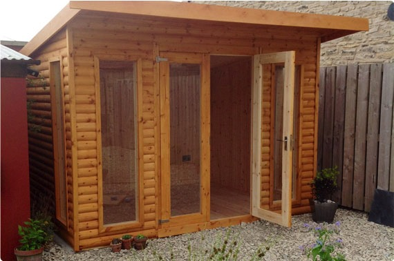 Garden offices bedale garden buildings north yorkshire for Timber garden office