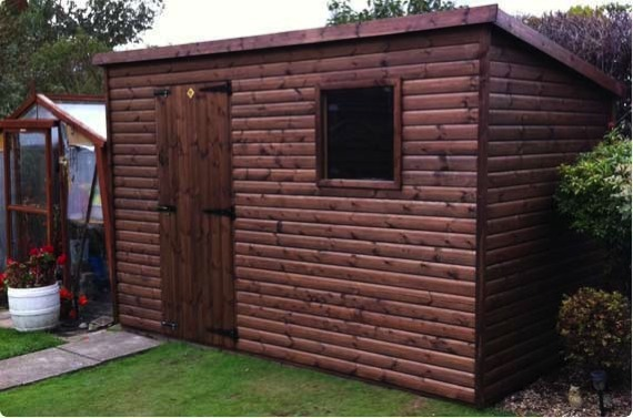 11x6 pent shed - Northallerton